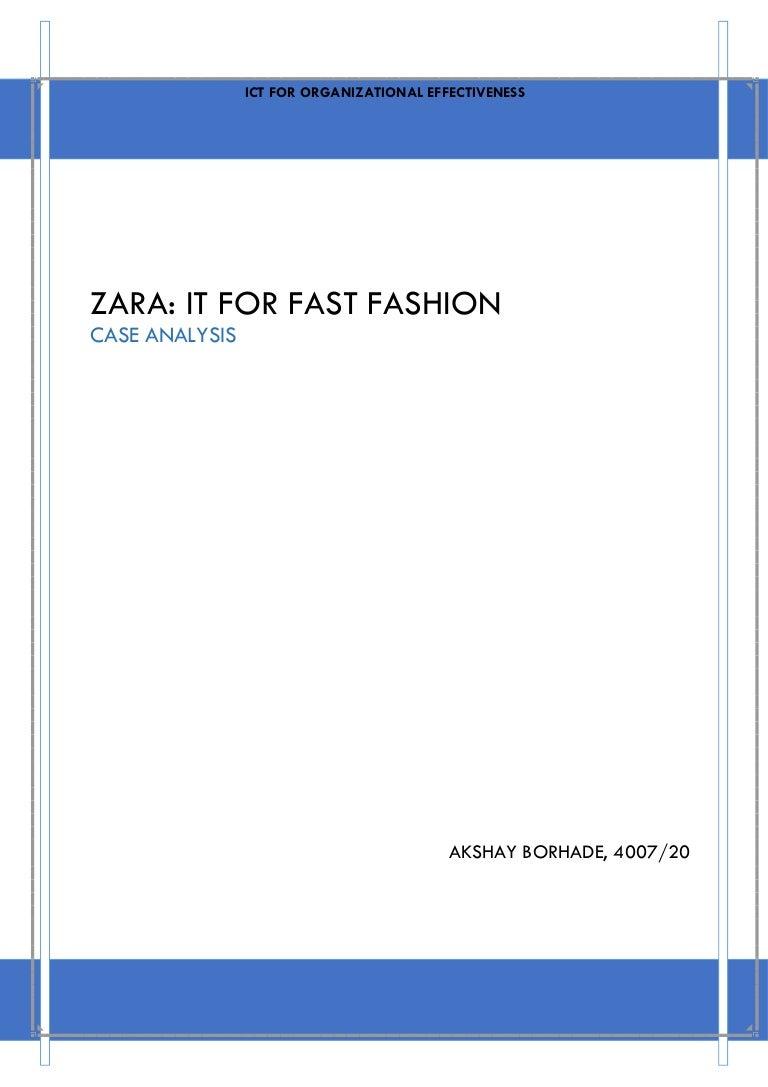 zara it for fast fashion
