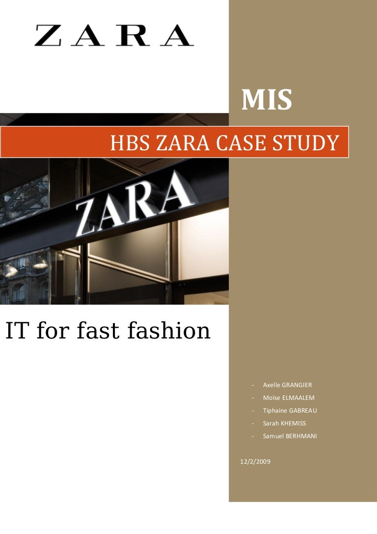 Zara case analysis zara fast fashion case study answers research zara case study toneelgroepblik