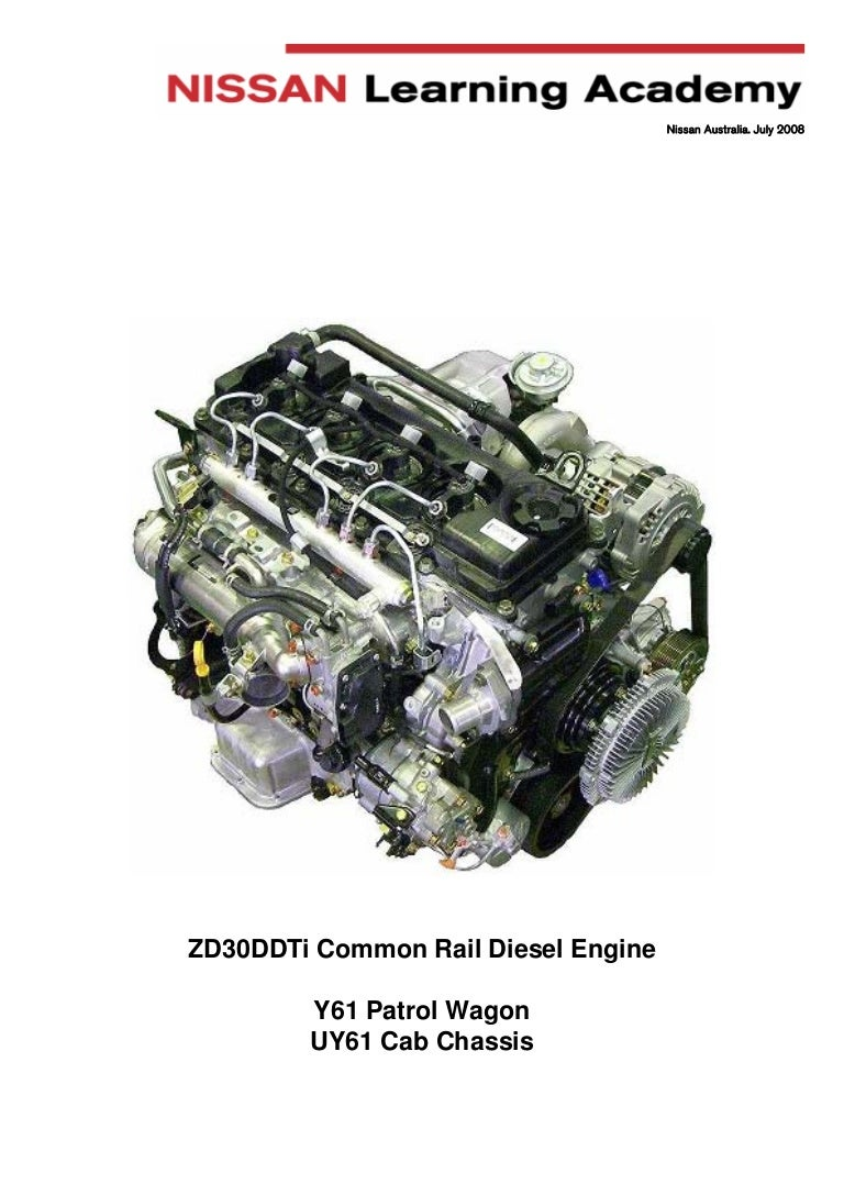 manual engine zd30 nissan rh slideshare net Nissan ZD30 Engine Problem ZD30 Turbo