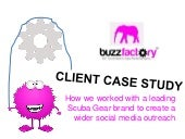 Zeebric BuzzFactory social media marketing customer case study
