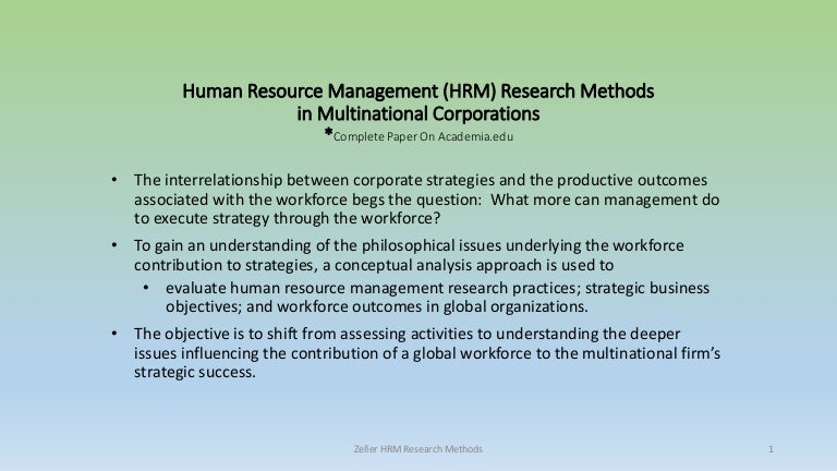 human resource management methods for ikea Human resource management entails a set of formal systems and processes carried out for the management of employees in an organisation factors relating to management of people vary within a company and across situations (mathis et al, 2011.