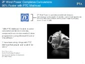 Zf wind power completes calculations 90% faster with ptc mathcad