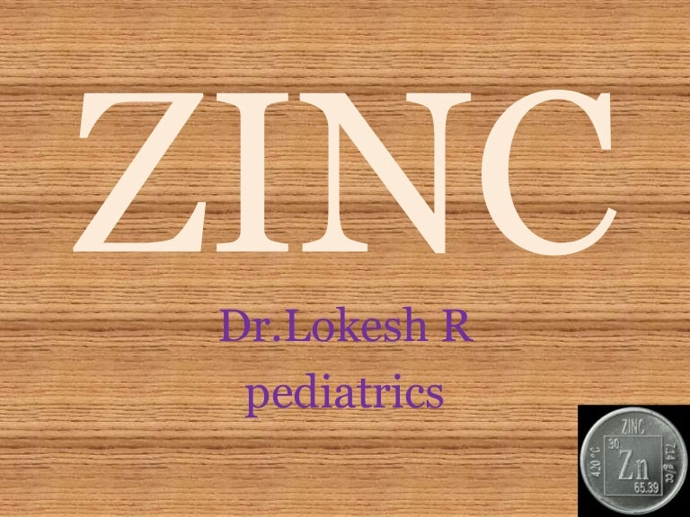 What from sexual function and zinc toxicity will