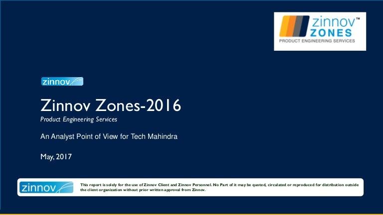 Tech Mahindra Case Study Zinnov Zones