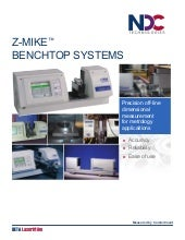 Z-Mike Benchtop Systems