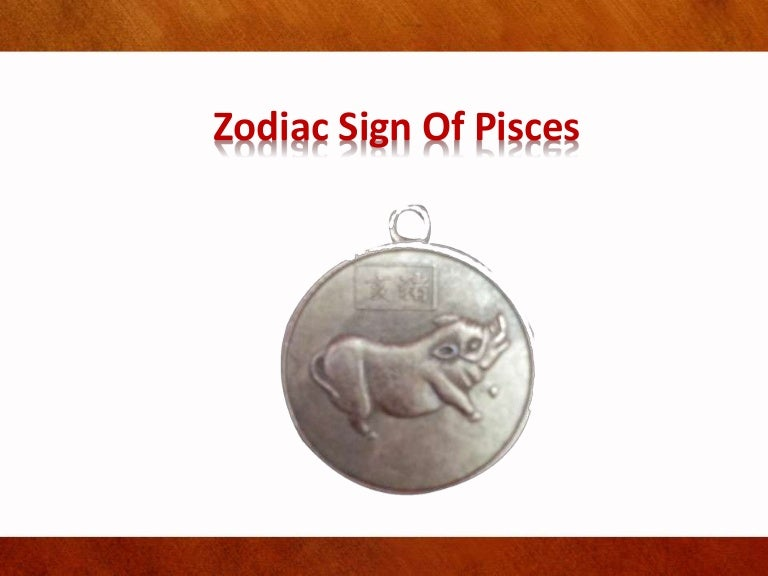 Zodiac sign of pisces ppt