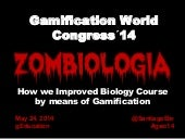 Zombiología - Gamification World Congress 2014