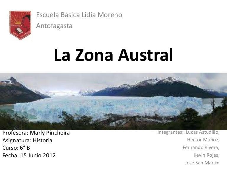 Zona austral for Grabado de cristales zona sur