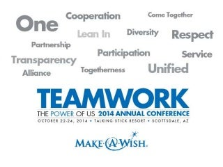 Make A Wish conference presentation on Next Generation of Giving